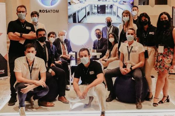 Rosatom'un REIN bölümü Avrupa Gençlik Nükleer Forumu'na katıldı