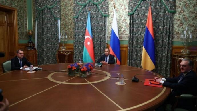 Rusya'da buluşan Azerbaycan ve Ermenistan ateşkeste anlaştı