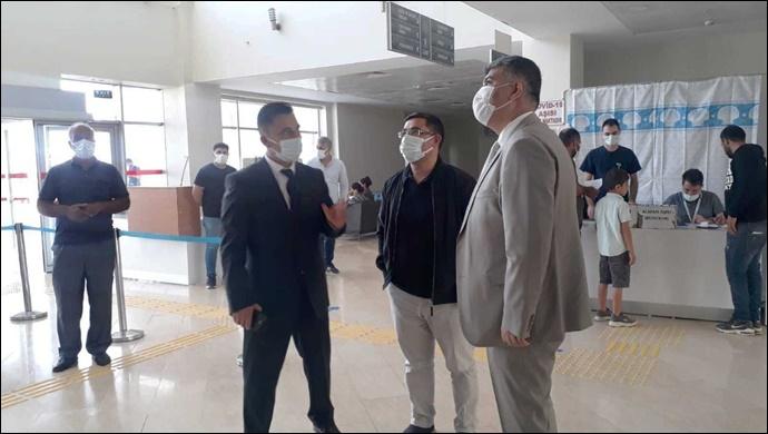 Sağlık Müdürü Gülüm, Bozova Devlet Hastanesi'nde İncelemelerde Bulundu