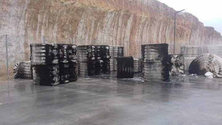Şanlıurfa 2.OSB'de Tekstil Fabrikasında Yangın