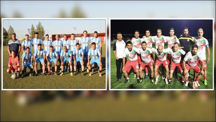 Şanlıurfa 63 Masterler ile Diyarbakır yeşil yıldız Masterler dostluk maçına çıkıyor