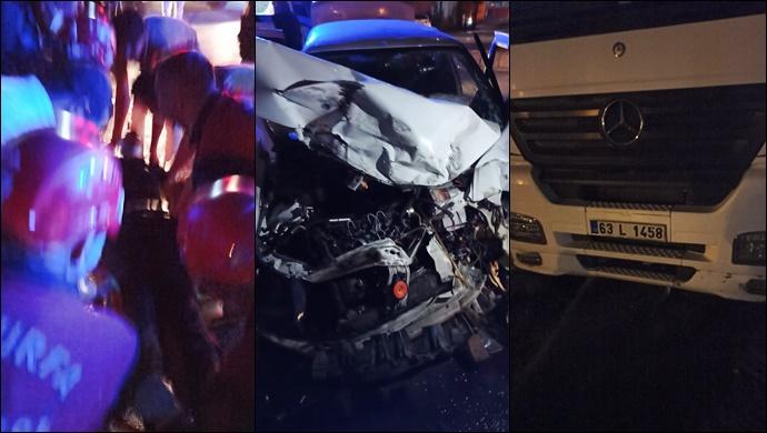 Şanlıurfa-Akçakale yolunda kaza:2 yaralı