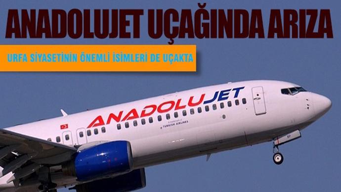 Şanlıurfa-Ankara Seferi Yapan Uçak Arıza Yaptı
