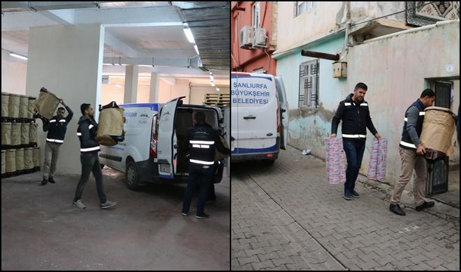 Şanlıurfa Büyükşehir Belediyesinden Dar Gelirlilere Soba Yardımı