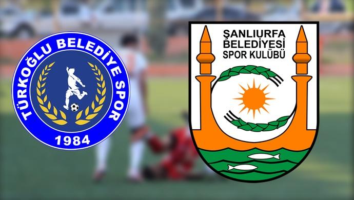Şanlıurfa Büyükşehir Belediyespor-Türkoğlu Belediyespor'a konuk oluyor