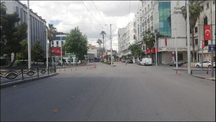 Şanlıurfa cadde ve sokaklarında korona sessizliği! Urfalılar yasağa uyuyor
