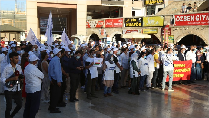 Şanlıurfa Emek Ve Demokrasi Platformu'ndan 1 Eylül Açıklaması
