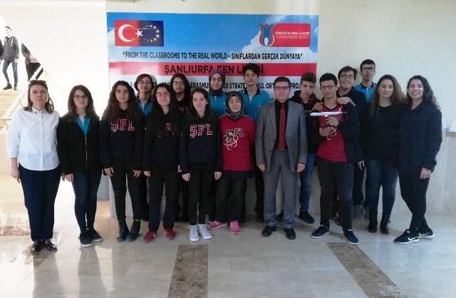 Şanlıurfa Fen Lisesi, yabancı misafirlerini ağırlayacak