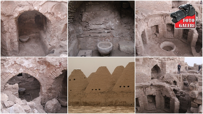 Şanlıurfa Harran'da tarih fışkırıyor