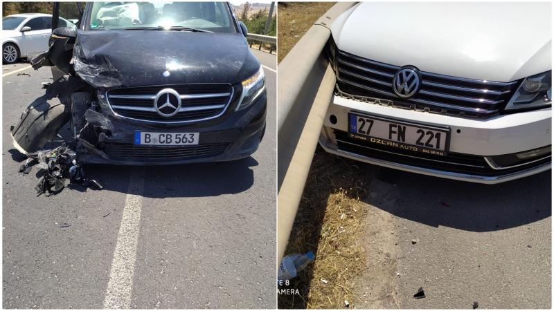 Şanlıurfa kaza:2 yaralı