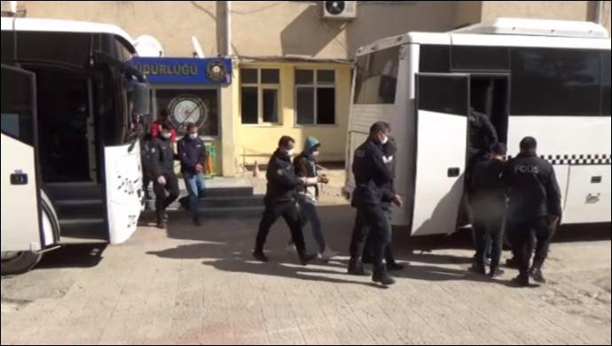 Şanlıurfa merkezli 10 ilde PKK operasyonu! 13 şahıs tutuklandı-(VİDEO)
