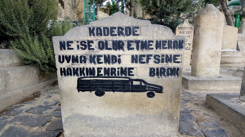 Şanlıurfa -Mezar Taşları Nasıl Öldüklerini Anlatıyor?