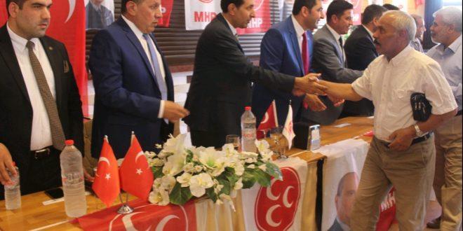 Şanlıurfa MHP'de Coşkulu Bayramlaşma Töreni
