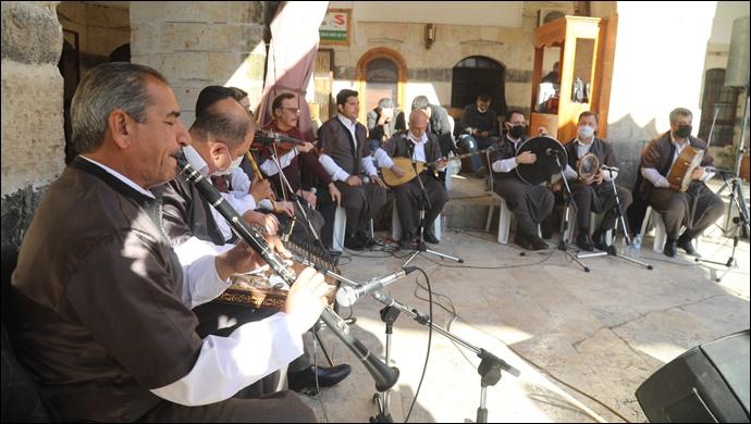 Şanlıurfa Müziği Şanlıurfa'nın Hanlarında Yankılandı-(VİDEO)