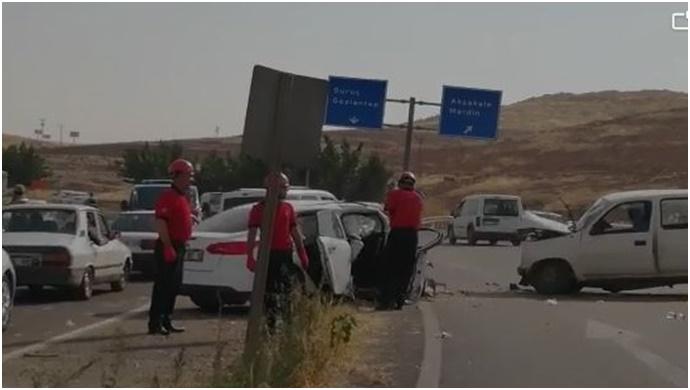 Şanlıurfa OSB'de Kaza: Yaralılar Var (Videolu)