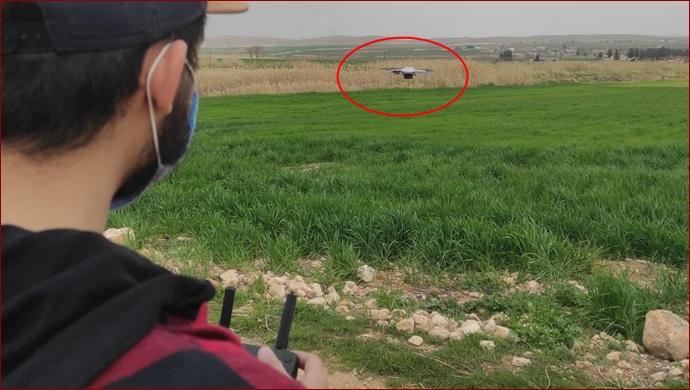 Şanlıurfa tarımında verim droneler ile artırılacak-( Foto- Video)