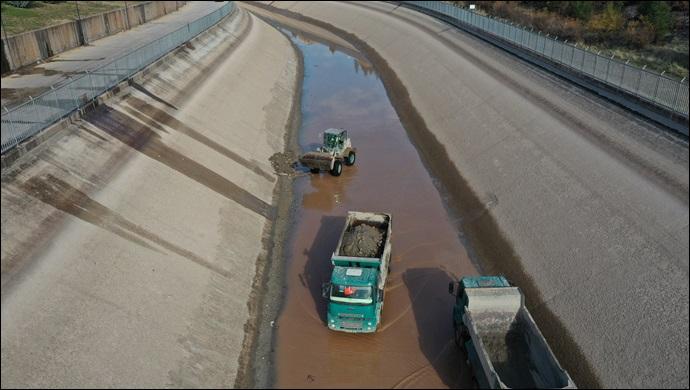 Şanlıurfa Tünelleri ve Ana İsale Kanalı Temizlik Çalışması