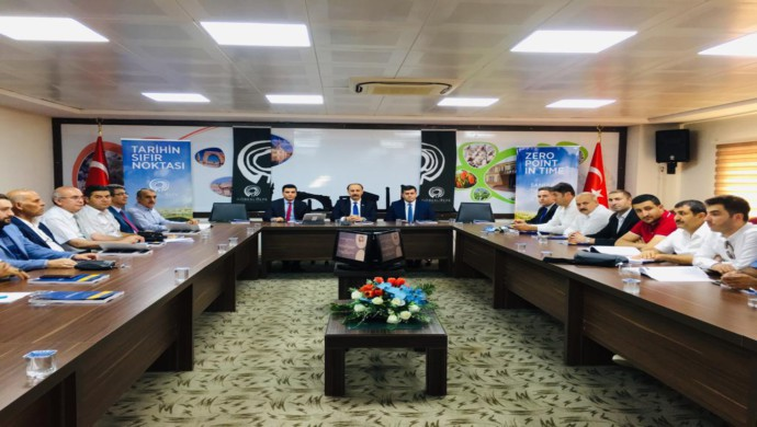 Şanlıurfa Turizm Konseyi İlk Toplantısını Gerçekleştirdi