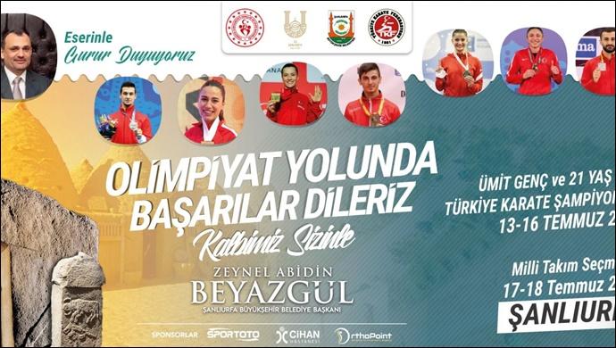 Şanlıurfa ,Türkiye Karate Şampiyonasına Ev Sahipliği Yapacak-(VİDEO)