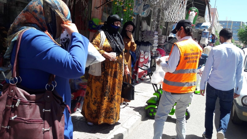 Şanlıurfa Valiliği 1 milyon 150 bin maske dağıttı