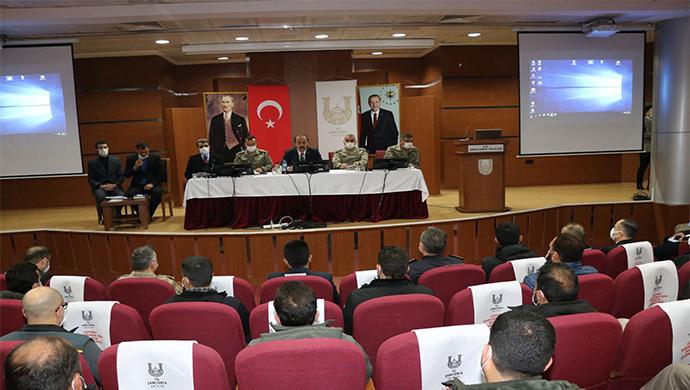 Şanlıurfa Valiliğinde Barış Pınarı ve Güvenlik Toplantısı-(VİDEO)