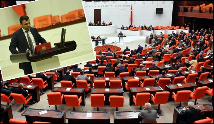 Şanlıurfa Vekili İş Kazaları ve İşçi Ölümlerini Meclis'e Taşıdı