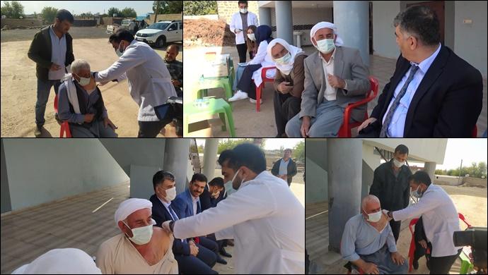 Şanlıurfa Viranşehir'de Minareden Aşı Çağrısı-(VİDEO)