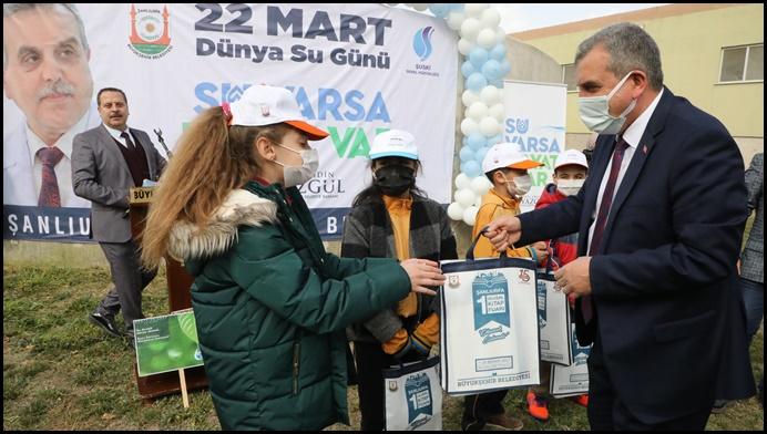Şanlıurfa'da 22 Mart Dünya Su Günü Kutlandı-(VİDEO)