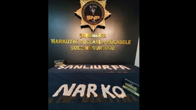 Şanlıurfa'da 3 ilçede zehir tacirlerine operasyon! 11 şahıs yakalandı