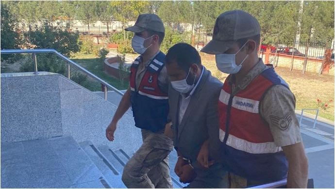 Şanlıurfa'da 3 yıl kesinleşmiş hapis cezası bulunan zanlıyı JASAT yakaladı-(VİDEO)