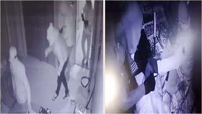 Şanlıurfa'da 300 Bin Liralık Soygun Güvenlik Kamerasına Yansıdı