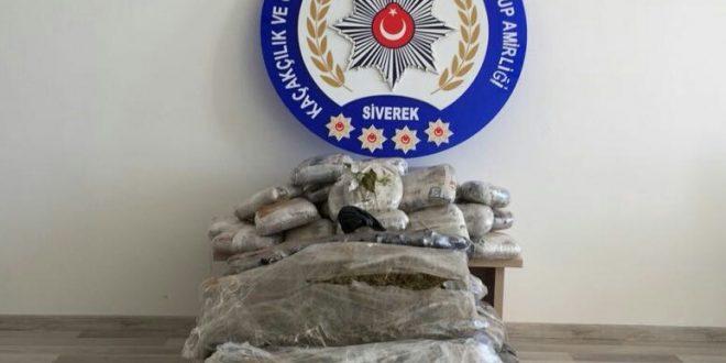 Şanlıurfa'da 82 Kilo 500 Gram Uyuşturucu ele geçirildi