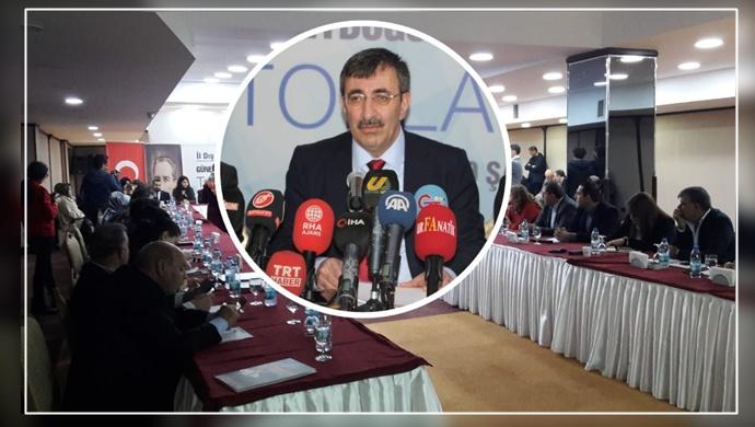 Şanlıurfa'da Ak Parti Dış İlişkiler Toplantısı Başladı