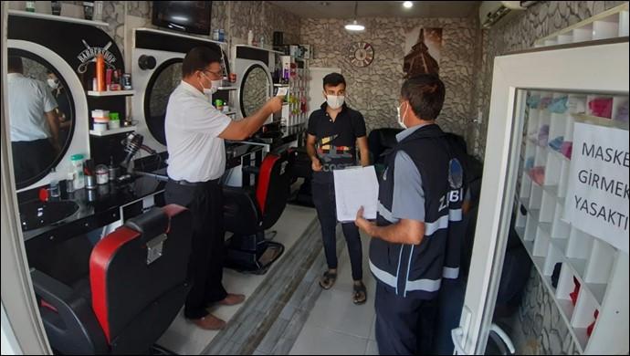 Şanlıurfa'da Covid-19 tedbirlerine uymayanlara ceza yağdı