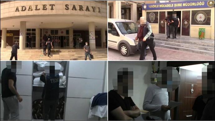 Şanlıurfa'da DEAŞ Operasyonu : 2 Tutuklama-(VİDEO)