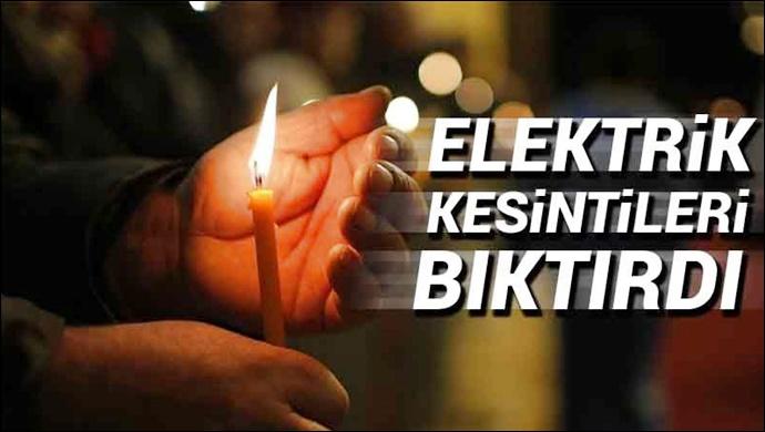 Şanlıurfa'da elektrik kesintilerine duyarsız Kalan DEDAŞ'a tepki