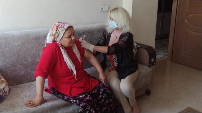 Şanlıurfa'da Evde Aşı Uygulaması Başladı-(VİDEO)