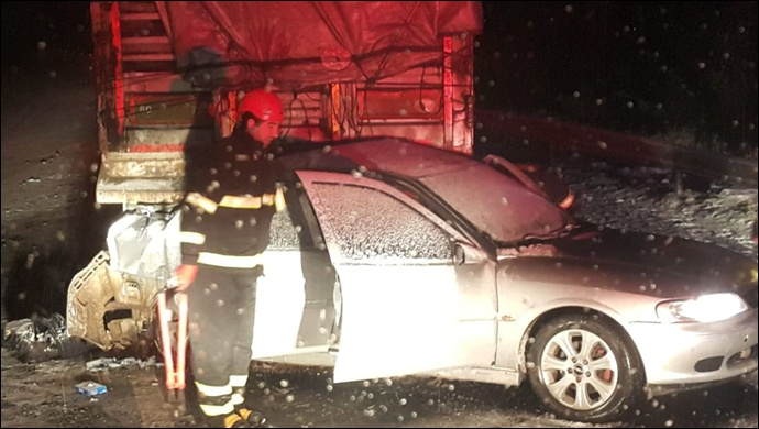 Şanlıurfa'da feci kaza: 3 ölü (Video)