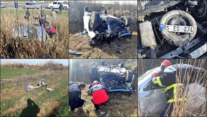 Şanlıurfa'da Feci Kaza...Çok Sayıda Yaralı Var-(Fotolu)