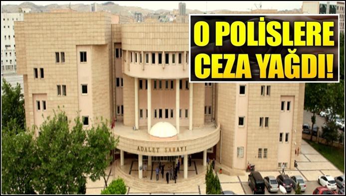 Şanlıurfa'da FETÖ'den Tutuklanan Polise Ceza Yağdı