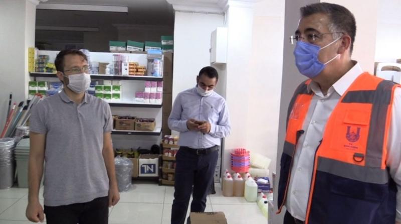 Şanlıurfa'da Gıda Denetimleri devam ediyor