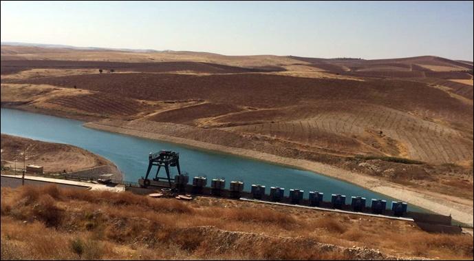 Şanlıurfa'da Harran ve Suruç Ovası sulanması tam hız sürüyor