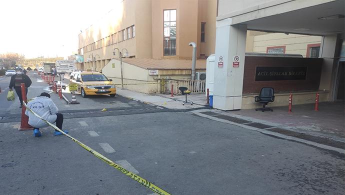 Şanlıurfa'da hastanede kavga! Polis olayı havaya ateş ederek yatıştırdı-(VİDEO)
