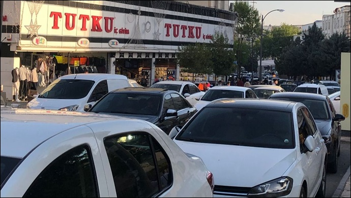 Şanlıurfa'da iftar öncesinde trafik bilmecesi!