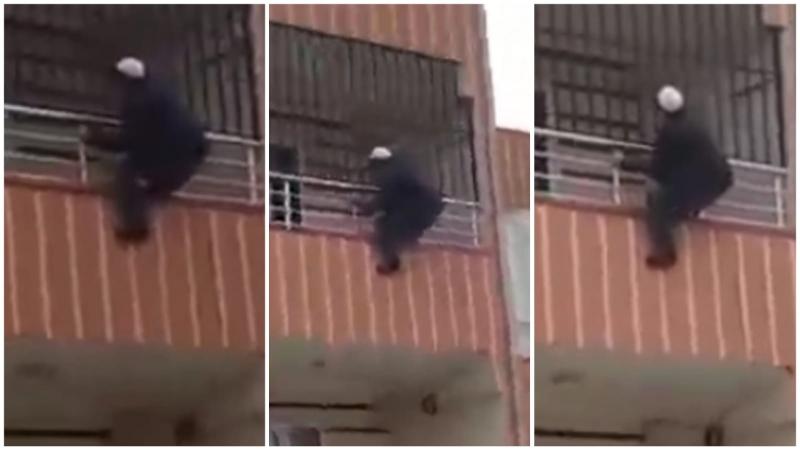 Şanlıurfa'da İntihar Girişimi-(Video)