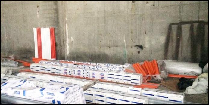 Şanlıurfa'da kaçak sigara operasyonu: Gözaltılar var