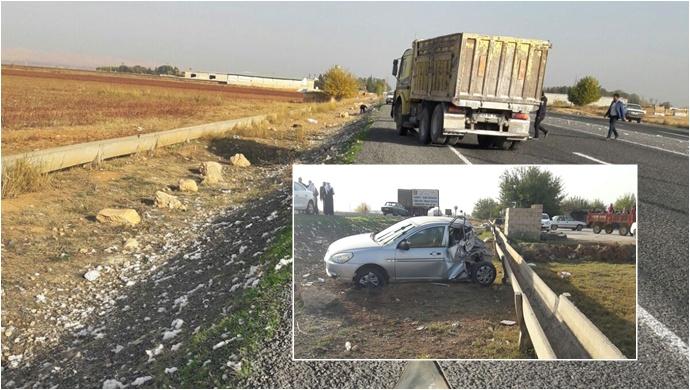 Şanlıurfa'da kaza; 1 Yaralı