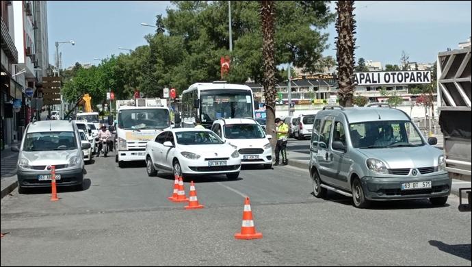 Şanlıurfa'da kısıtlama sessizliği: Kent genelinde denetimler sürüyor-(VİDEO)
