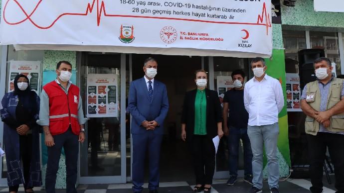 Şanlıurfa'da Koronavirüsle mücadelede önemli bir adım atıldı