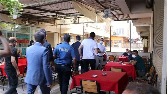 Şanlıurfa'da Kovid-19 tedbirlerine uymayanlara ceza yağdı